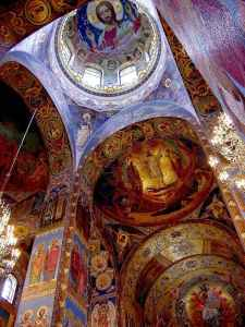 World Churches Famous Churches The Church Of Our Savior On Spilled Blood Quot Spas Na Kravi At St Petersburg Russia