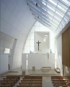 Interior - The Jubilee Church, Rome