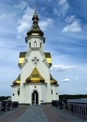 St. Nicholas's Church on Water, Kyiv, Ukraine