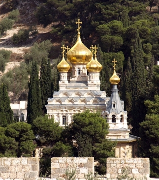 The Church of Mary Magdalene, Jerusalem, Israel
